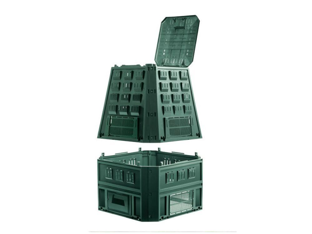 Prosperplast Компостер Evogreen 850 л, зеленый IKEV850Z-G851